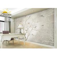 Wholesale Bamboo Charcoal Fiber Fabric Wallpaper Wall Coverings Softness Living Room TV Background Wall from china suppliers
