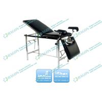 Wholesale Stainless Steel Frame hospital Medical Examination Couch / table with PU Surface from china suppliers