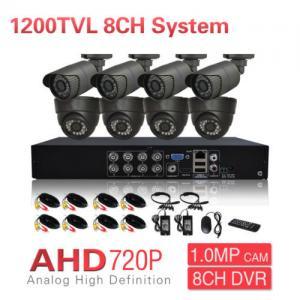 Wholesale 1200TVL 720P Surveillance camera system , AHD DVR  Day Night IR Camera from china suppliers