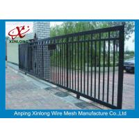 Wholesale Eco Friendly Motorised Sliding Gate , Electric Entrance Gates Convenient Install from china suppliers