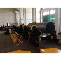 Quality Motorized Moving Pipe Welding Rollers , 120000lbs Heavy Duty Pipe Rollers for sale