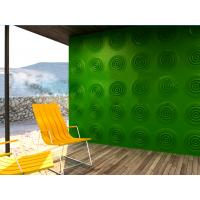 Wholesale Waterproof Green / Purple 3D Decorative Wall Panel With Color , Hotel Decor from china suppliers