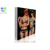 Wholesale Fabric Slim LED Light Box Sign Photo Display Light Box Aluminum Frame from china suppliers