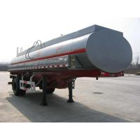 Wholesale 16000L-Carbon Steel Monoblock Tanker Semi-Trailer for Fuel and Water from china suppliers