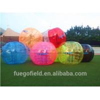 Wholesale Crazy Inflatable Hamster Ball for adventure , Light inflatable body bumper ball from china suppliers