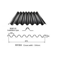 Wholesale Black Color Q235 Prepainted Steel Roofing Sheet for house roofings from china suppliers
