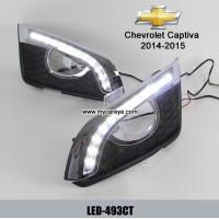 Wholesale Chevrolet Captiva 2014 DRL LED Daytime driving Lights kits daylight from china suppliers