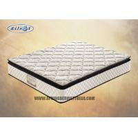 Wholesale 5 Zoned Pillow Top Pocket Spring Mattress , Memory Foam Orthopaedic Mattress from china suppliers