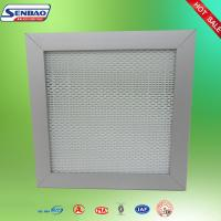 Wholesale Single Flange Gel Seal Hepa Air Filters Pharmaceutical Clean Room Air Filter from china suppliers