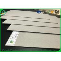 Wholesale Hard Stiffness 2mm 3mm Recycled Grey Card Board / Grey Chipboard For Book Covers from china suppliers