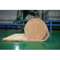 Wholesale Orange Glass Wool Blanket Applied to Roof Insulation , 10-80 kg /m3 from china suppliers