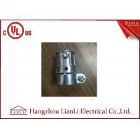Quality Zinc Material Flexible Conduit Fittings EMT To FMC Type , Screws Connect for sale