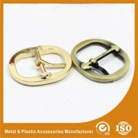 Wholesale Round Metal Shoe Buckles / Pin Replacement Buckles For Shoes Or Handbag from china suppliers