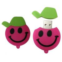 Wholesale promotional speical cartoon silicon power USB flash drives 1GB 2GB 4GB 8GB 16GB 32GB from china suppliers