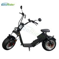 Wholesale EEC 18 Inch Fat Tire Caiqiees Citycoco Electric Scooter With Round Lamp And Mirrors from china suppliers