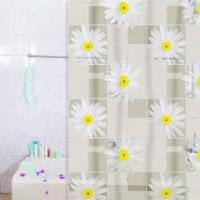 Wholesale PVC Printed Shower Curtain, with 12 Pieces Hooks, Available in Various Colors and Styles from china suppliers