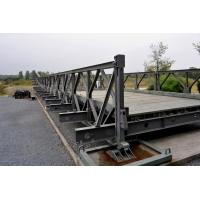 Wholesale Prefabricated Standardized Strongest Truss Bridge , Galvanized Portable Steel Bridge from china suppliers
