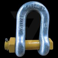 Buy cheap D TYPE Shackles with screw pins G2150, US TYPE from wholesalers