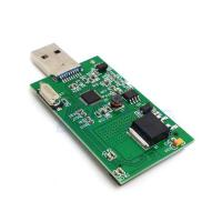"""Wholesale 1.8 """"Mini PCI-E mSATA USB3.0 Adapter Card Conveter externe SSD PCBA carte HG from china suppliers"""