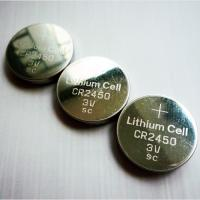 Wholesale CR2450 3V 500mAh Lithium Button Cell Battery Recharge Lithium Ion Batteries from china suppliers