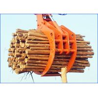 Wholesale Steel Hydraulic Rotating Timber Grab For Ports / Railways Loading And Unloading from china suppliers