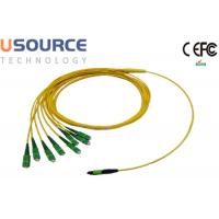 Wholesale 8 / 12 / 24 Fiber Strands MPO Cable Assemblies MPO / MTP - SC Breakout Harness Cables from china suppliers