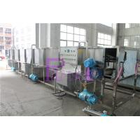 Quality Hot Filling Line Bottle Packing Machine Sterilizer Steam Heating Insulation Layer for sale