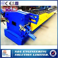 Wholesale Heavy Duty Rain Down Pipe Roll Forming Machine 10 - 15m / Min Efficiency from china suppliers