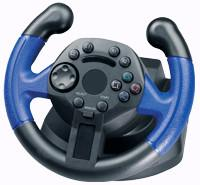 Wholesale Mini Wired USB Laptop / Playstation2 Steering Wheel With Vibration from china suppliers