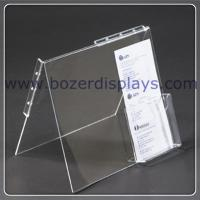 Wholesale High transparent Acrlic Portable Literature Display from china suppliers