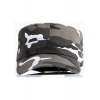 Wholesale Camouflage Fabric Cool Flat Peak Caps Brim Curve Adjustable Size Personalized from china suppliers