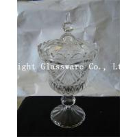 Wholesale wholesale wedding party plates glass candy stand, glass fruit plates with lid from china suppliers