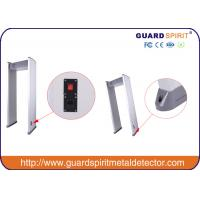 Wholesale Six Zones Walk Through Security Metal Detector Body Scanner Password Protection from china suppliers
