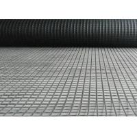 Quality Bitumen Coated Asphalt Reinforcement Geogrid Self Adhesive High Tensile Strength for sale
