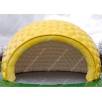Wholesale Children Yellow Waterproof inflatable building structures For Entertainment from china suppliers