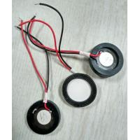 Wholesale Micro 16mm / 25mm Piezoelectric Ceramic Disc Transducer 1700hz from china suppliers