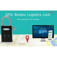 Wholesale Zinc Alloy Logistic Fleet Management GPS Tracker Gps Padlock For Container from china suppliers
