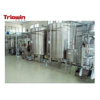 Wholesale Milk Pretreatment Pasteurized Milk Processing Line 10 Tons /D Up To 100 Tons /D from china suppliers