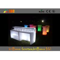 Wholesale 82 * 82 * 110cm LED lighting counter / illuminated bar table / Bar Furniture from china suppliers