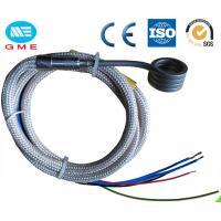 Quality 3.0 X 3.0mm Spring Enail Hot Runner Coil Heater With Thermocouple J , K CE Approval for sale