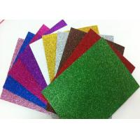 Wholesale 1.7mm Non - Toxic Die Cut Glitter EVA Foam Sheet For Craft And Kids DIY from china suppliers