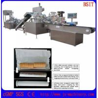 Wholesale effervescent tablet wrappping and filling and capping and labeling line from china suppliers
