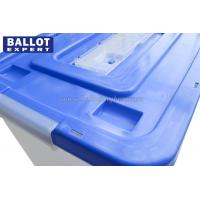 Quality 65 Liter Larger Capacity Locable Plastic Ballot Box For Voting Campaign for sale
