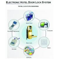 Quality hotel card lock system for sale