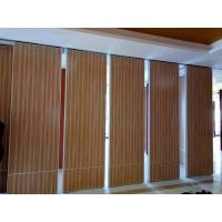 Wholesale Hanging Operable Accordion Acoustic Room Dividers on Tracks 85mm Width from china suppliers