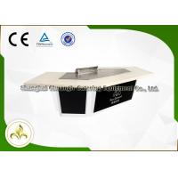 Wholesale Snow Mountain Gas Teppanyaki Plate Japanese Dining Grill Built In Air Blower from china suppliers