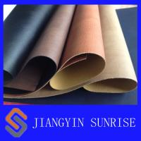 Wholesale Anti - Ageing PU Synthetic Leather Upholstery Fabric Approved ROHS from china suppliers