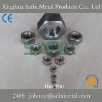 Buy cheap Stainless Steel Hex Nut/ Heavy Hex Nut/ Normal Hex Nut 316(A4-80) 304(A2-70) from wholesalers