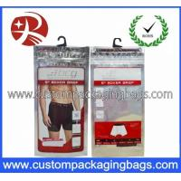 Wholesale Printed Plastic Hanger Bags For Garment And Towel Packaging from china suppliers