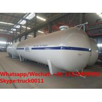 Wholesale 2018s customized 50cbm surface lpg gas storage tank for NIYET RESOURCES LTD. in Nigeria, 50m3 lpg gas tank for sale from china suppliers